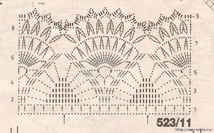 Крючком. Сарафан для девочки (3) (700x435, 201Kb)
