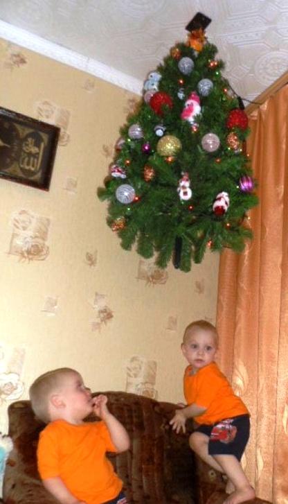 Как обычно встречают Новый год в семьях с маленькими детьми