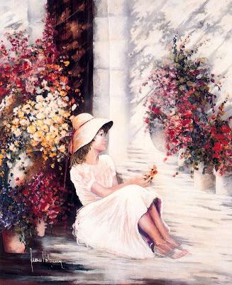 Женщина не может без весны