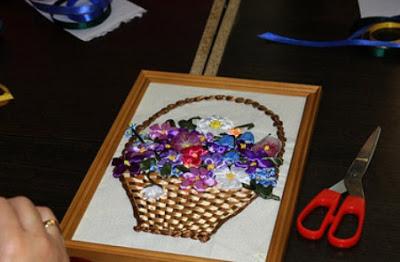 Мастер-класс: вышивка шелковыми лентами