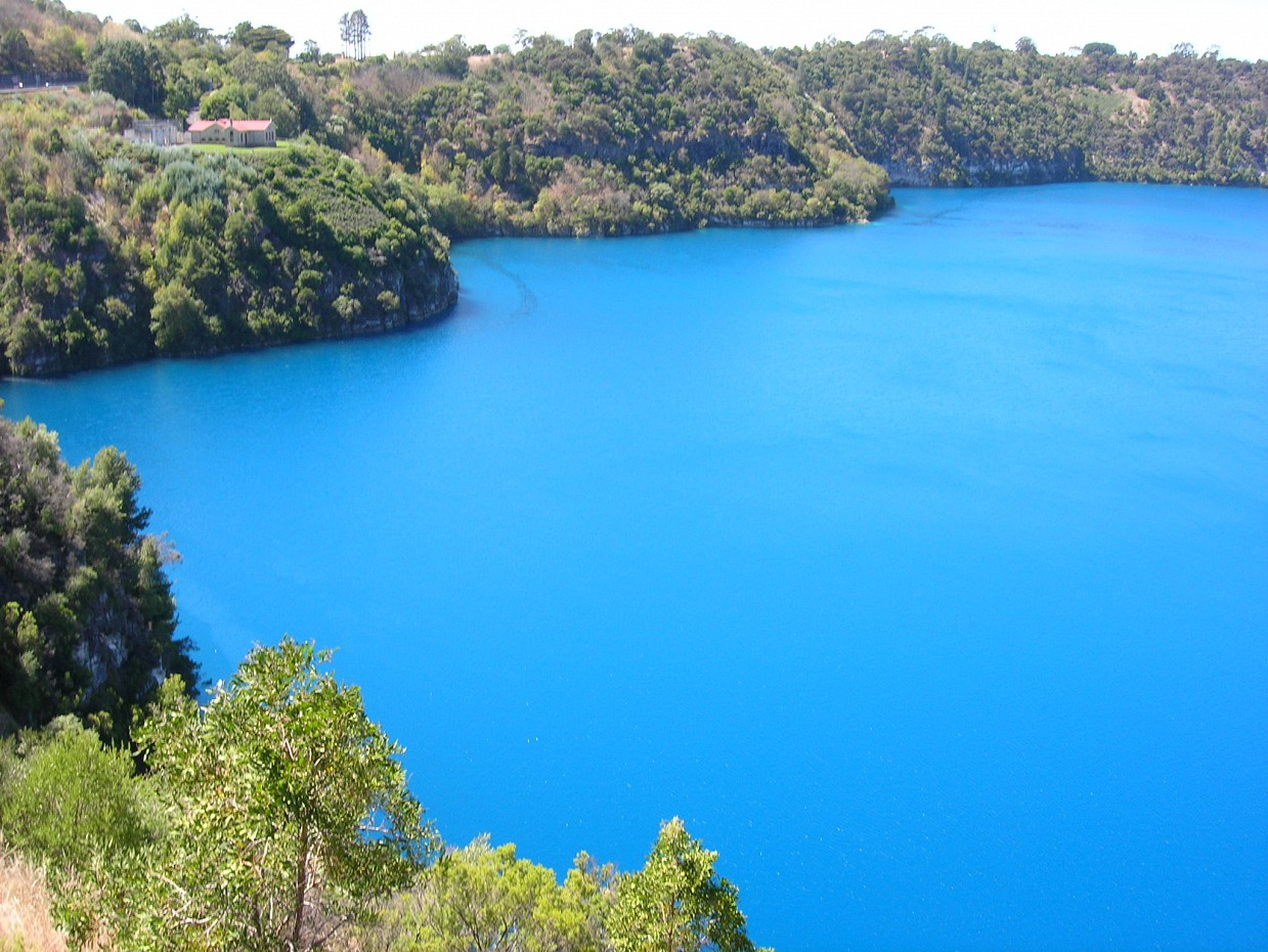 Голубое озеро, Маунт-Гамбир, Австралия