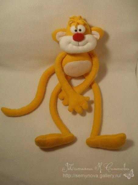 Как сшить обезьянку своими руками мастер класс 43
