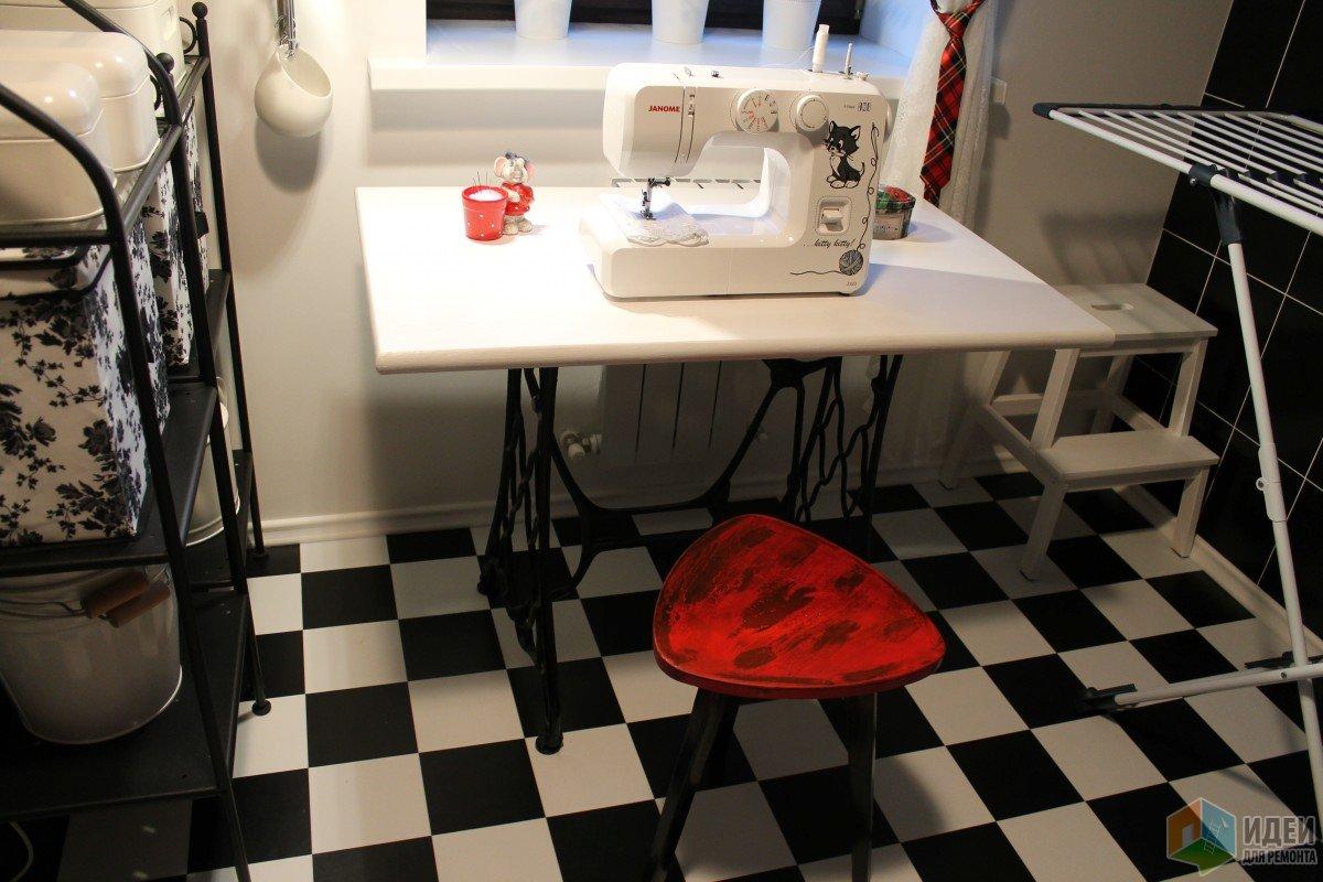 Ванная в телефонной будке. Кладовка на шахматной доске