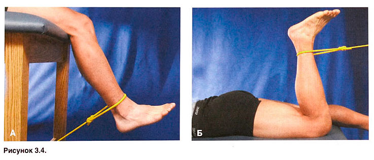упражнение при артрите коленного сустава фото