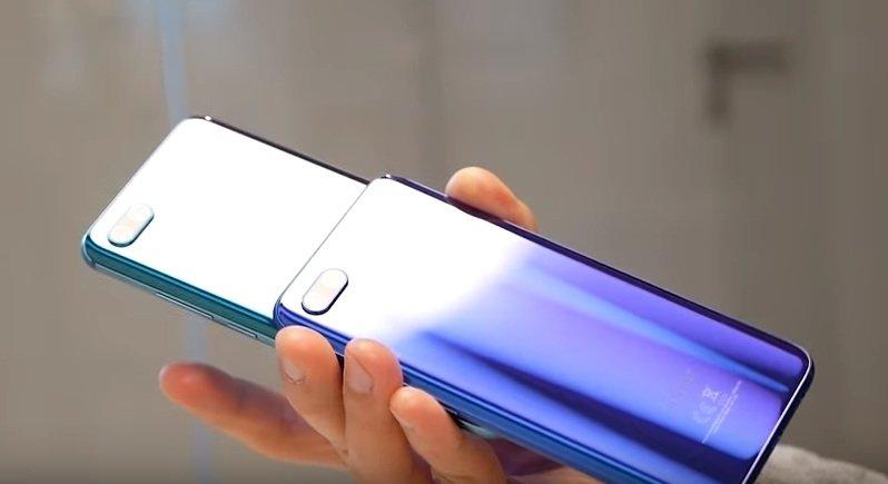 Компания Honor представила первый в мире смартфон с «дыркой» в дисплее