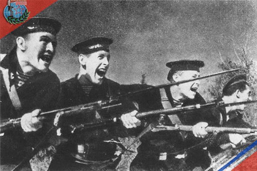 «Когда разнеслась информация,что наступают русские моряки,14 рота без приказа начала отступление…хотя русские не стреляли»