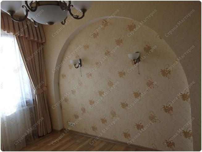 Арки с гипсокартона на стене своими руками видео