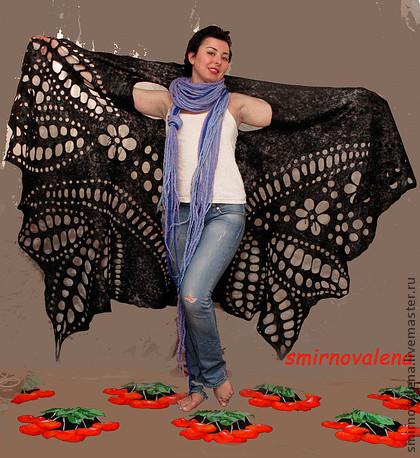 Шали, палантины ручной работы. Ярмарка Мастеров - ручная работа Создание романтического образа :). Handmade.