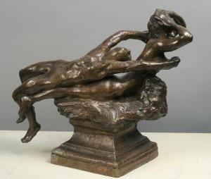 Красота обнажённого тела в скульптурах Родена.
