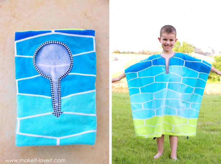 Как сшить детское полотенце-пончо Просто Мама 3