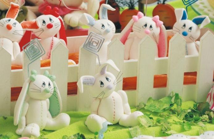 Делаем на Пасху марципановых кроликов! Рецепт марципана и  золотого сиропа