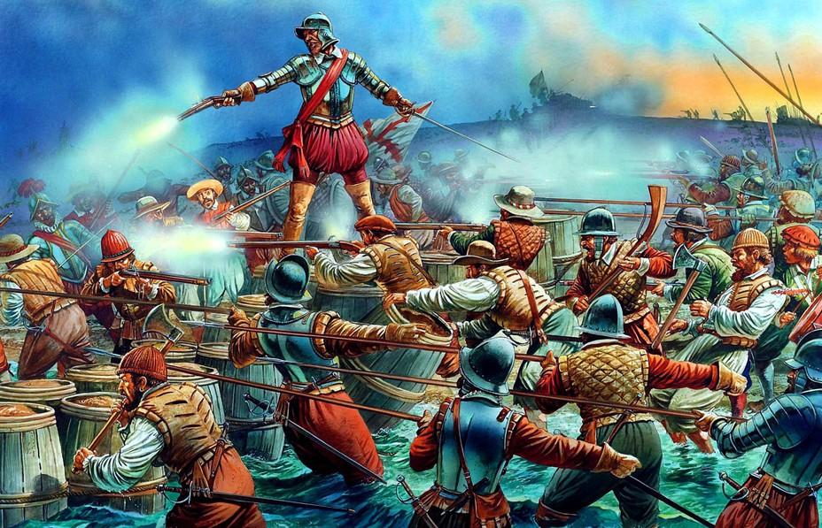 Штурм Картахены Индейской - Лучший пират Её Величества | Военно-исторический портал Warspot.ru