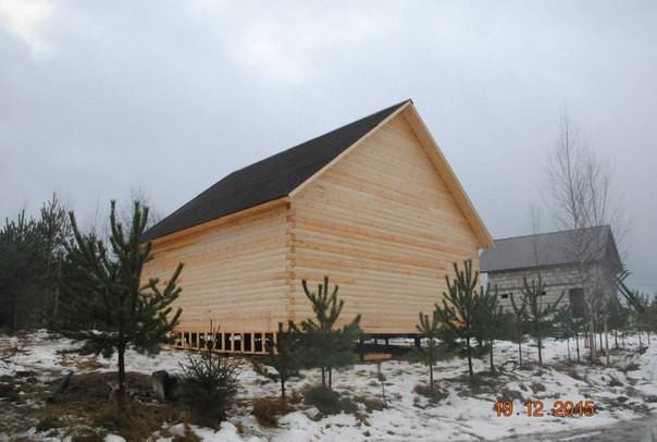 Деревянный дом под усадку своими руками за 7 тысяч долларов