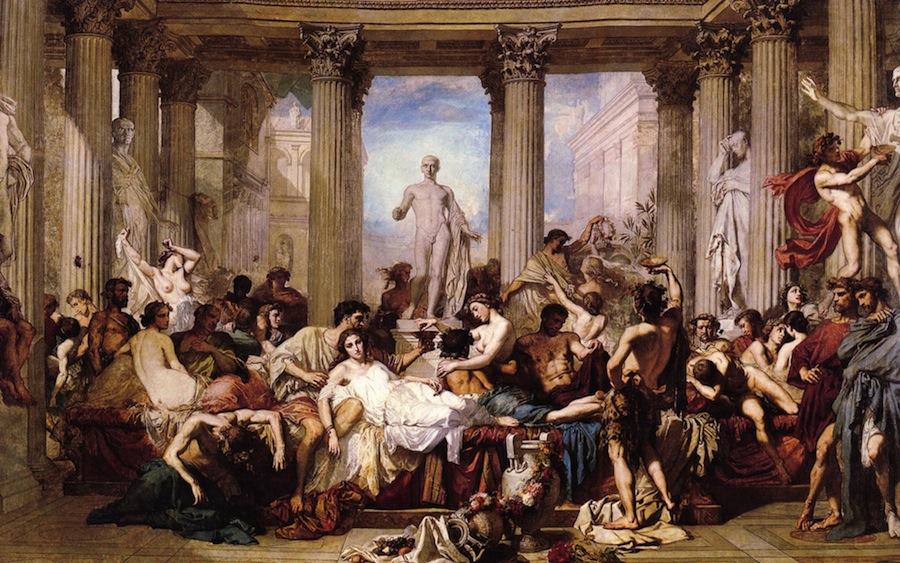 Разоблачаем легенды и мифы об античных цивилизация. Сумасшедшие оргии и разврат были или нет?