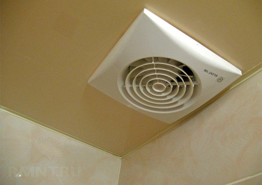 Вентиляция в туалете и ванной: как сделать принудительную вытяжку