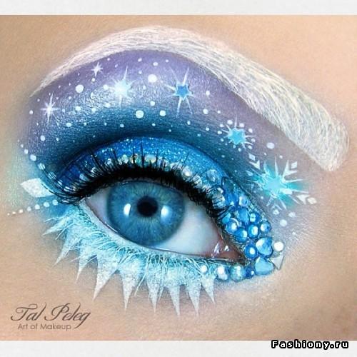 Как нарисовать глаз макияж фото