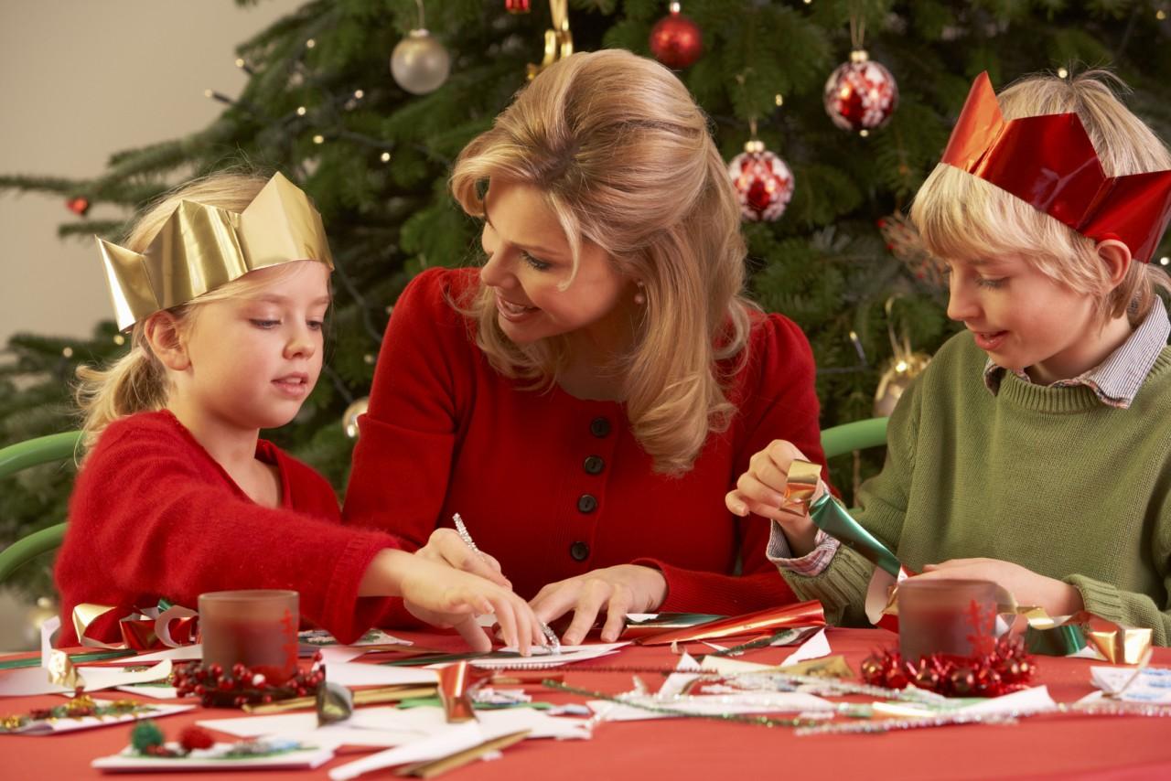 15 новогодних поделок, которые можно сделать вместе с детьми!