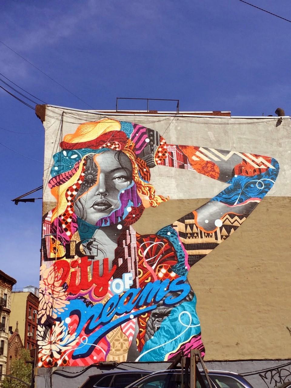 1. Нью-Йорк Сити, Нью-Йорк, США граффити, стрит-арт, художники