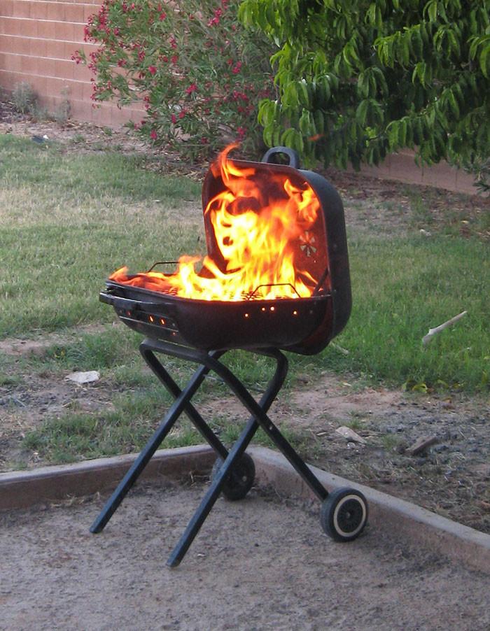 35. Огненное лицо момент, фотография