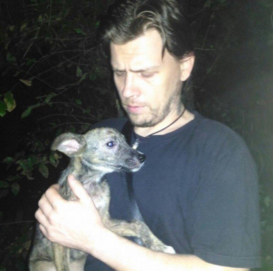 Мужчина в Ростове спас собаку от участи шашлыка