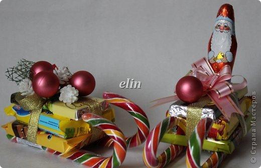 Мастер-класс Свит-дизайн Упаковка Новый год Разные сладкие работы Бумага Материал оберточный Проволока Продукты пищевые фото 3