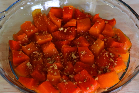 Фото к рецепту: И конфет не нужно! // турецкий десерт из тыквы // мармеладная тыква