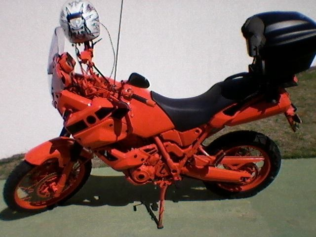 Перекраска мотоцикла, как средство от угона