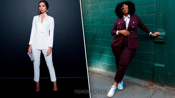 Как носить брючный костюм этой осенью: 8 ярких примеров от самых стильных блогеров