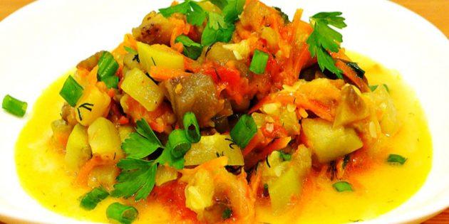 Тушёные кабачки - рецепт