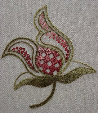 Crewel Embroidery: