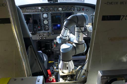 Робот успешно посадил пассажирский самолет