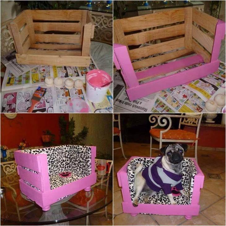 Кроватка из ящика (Diy)