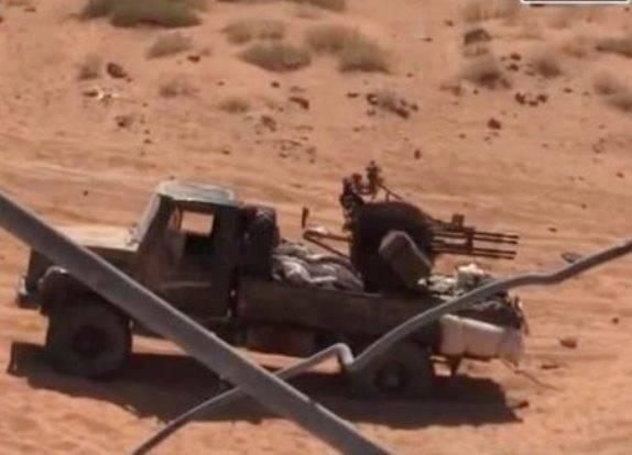 В Сирии замечены ЗПУ-4, смонтированные на автомобилях «Садко»