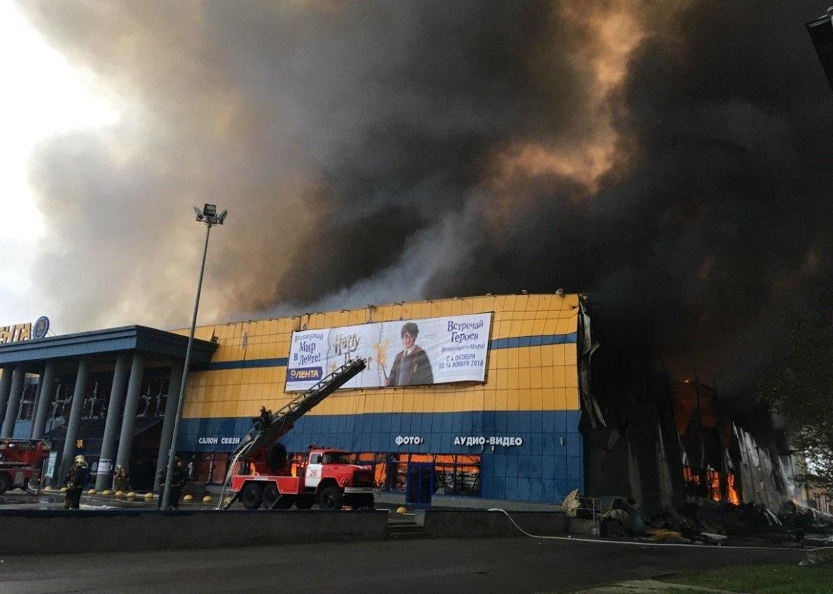 Пожар в Петербурге потушен, …