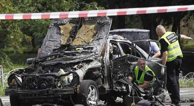 Украинских полковников взрывают за Гиви и Моторолу