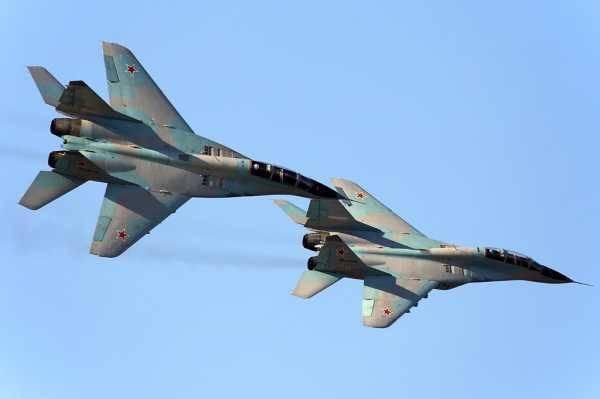 Российские истребители входят в воздушное пространство Сербии