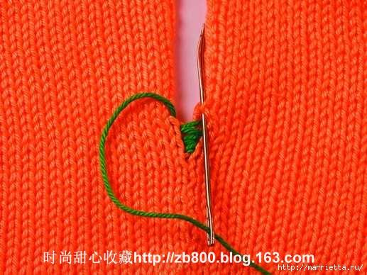 Способы соединения вязаных спицами деталей (16) (517x388, 165Kb)