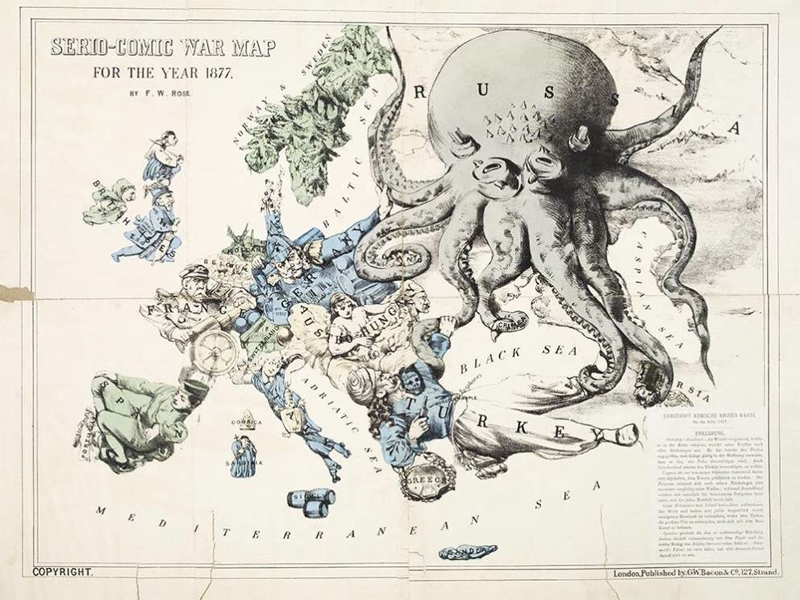Карты, которые могли бы стать произведениями искусства