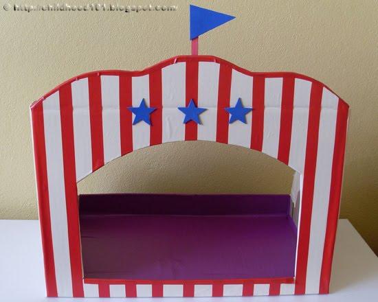 Как сделать театр из картона