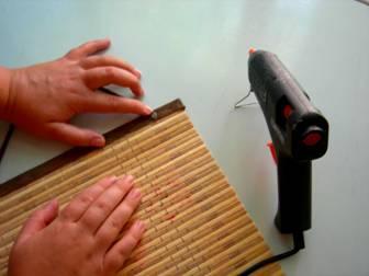 МАСТЕР-КЛАСС! Как Сделать Панно из Бамбуковой Салфетки!