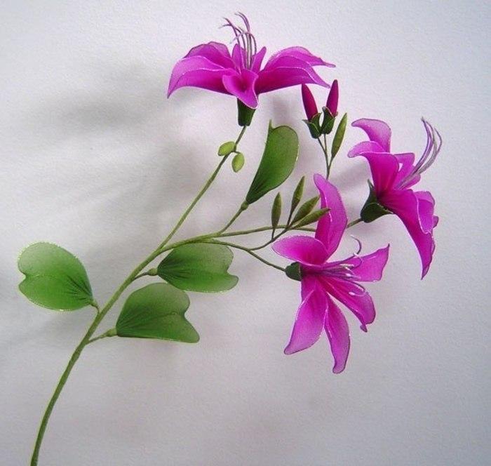 Как сделать цветы из капроновых колготок своими руками