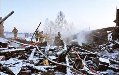 Сгоревший в Ярославской области дом планировалось расселить