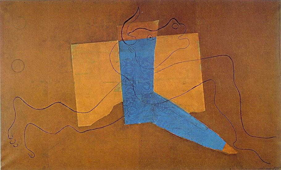 Пабло Пикассо. Минотавр. 1928 год