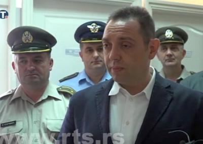 Министр обороны Сербии: Майдан был спецоперацией западных спецслужб