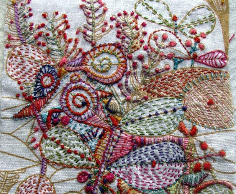Ручная вышивка: ЦВЕТЫ в разных техниках