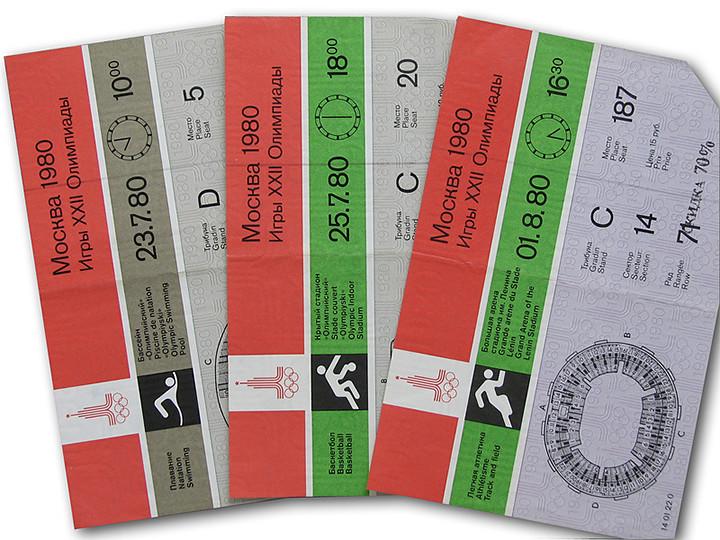 12. Цена билета Олимпиада - 80, факты
