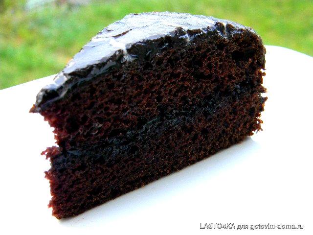 """Торт """"Негр""""( без пены)"""
