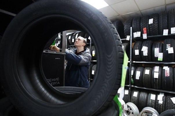 Названы самые популярные в России шины.