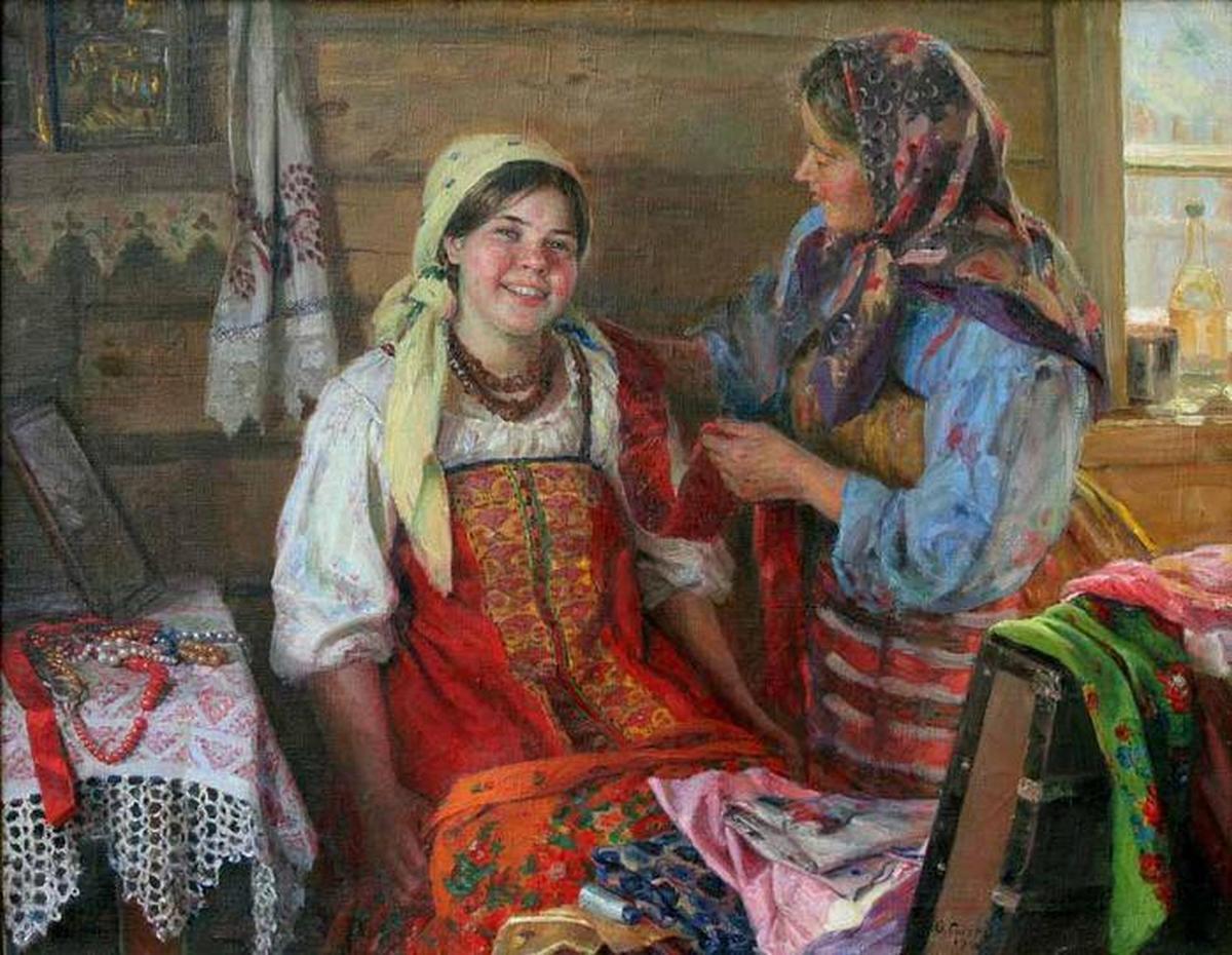 Русские девки дома 19 фотография