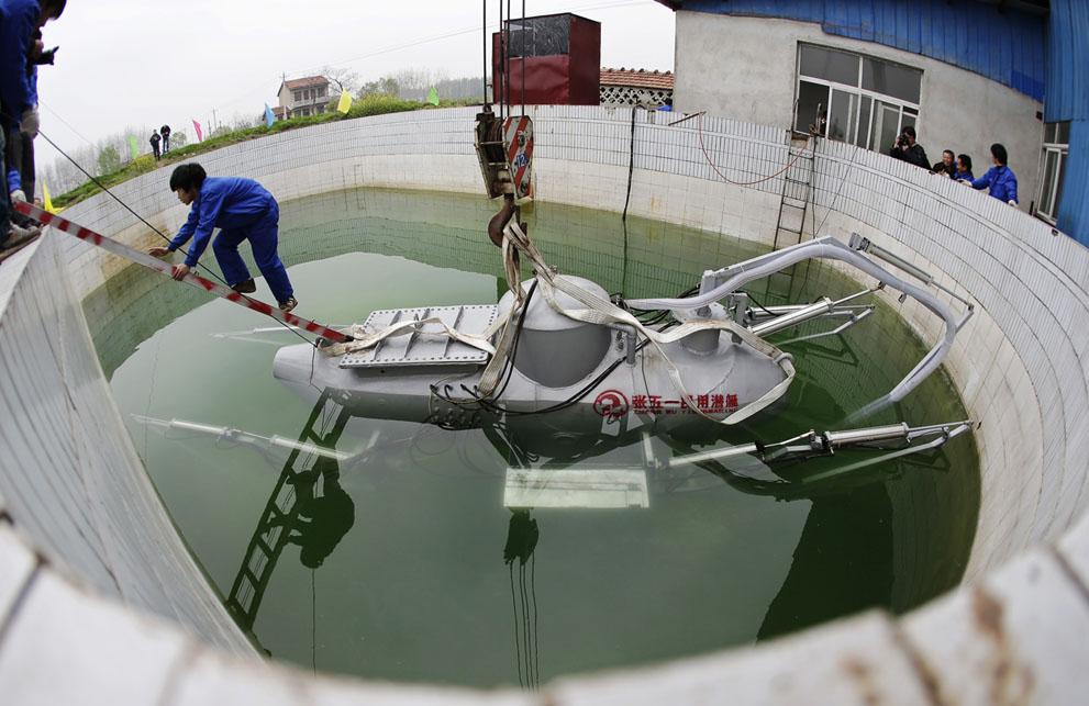 как это сделано подводная лодка